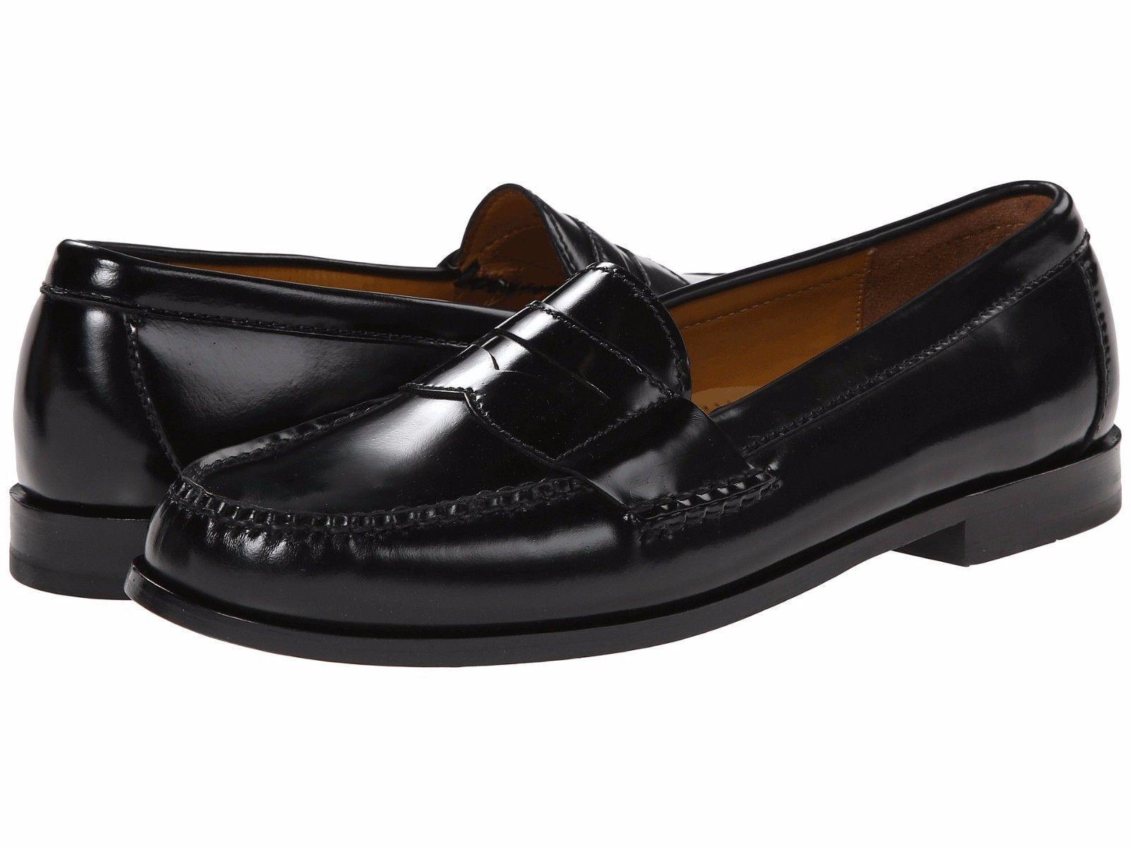 stile classico Cole Haan Uomo Pinch Penny Moc Toe Toe Toe Slip On Casual Loafer scarpe nero 8.5 NEW  molte sorprese