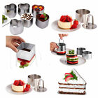Cookie Biscuit Pastry Fondant Jelly Layer Mold Cake Cutter Mould Bake Metal Tool
