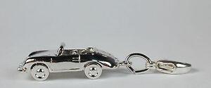 Sterling-Silver-Porsche-Speedster-Convertible-Charm-Free-U-S-Shipping