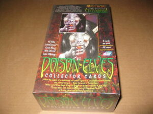 Poison Elves Trading Card Box Comic Images 1996