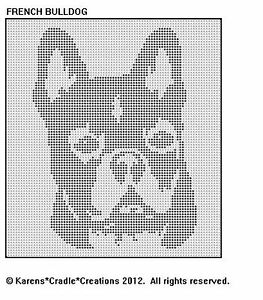 Crochet French Bulldog by CarrotTopsCharacters on Etsy (With ... | 300x263