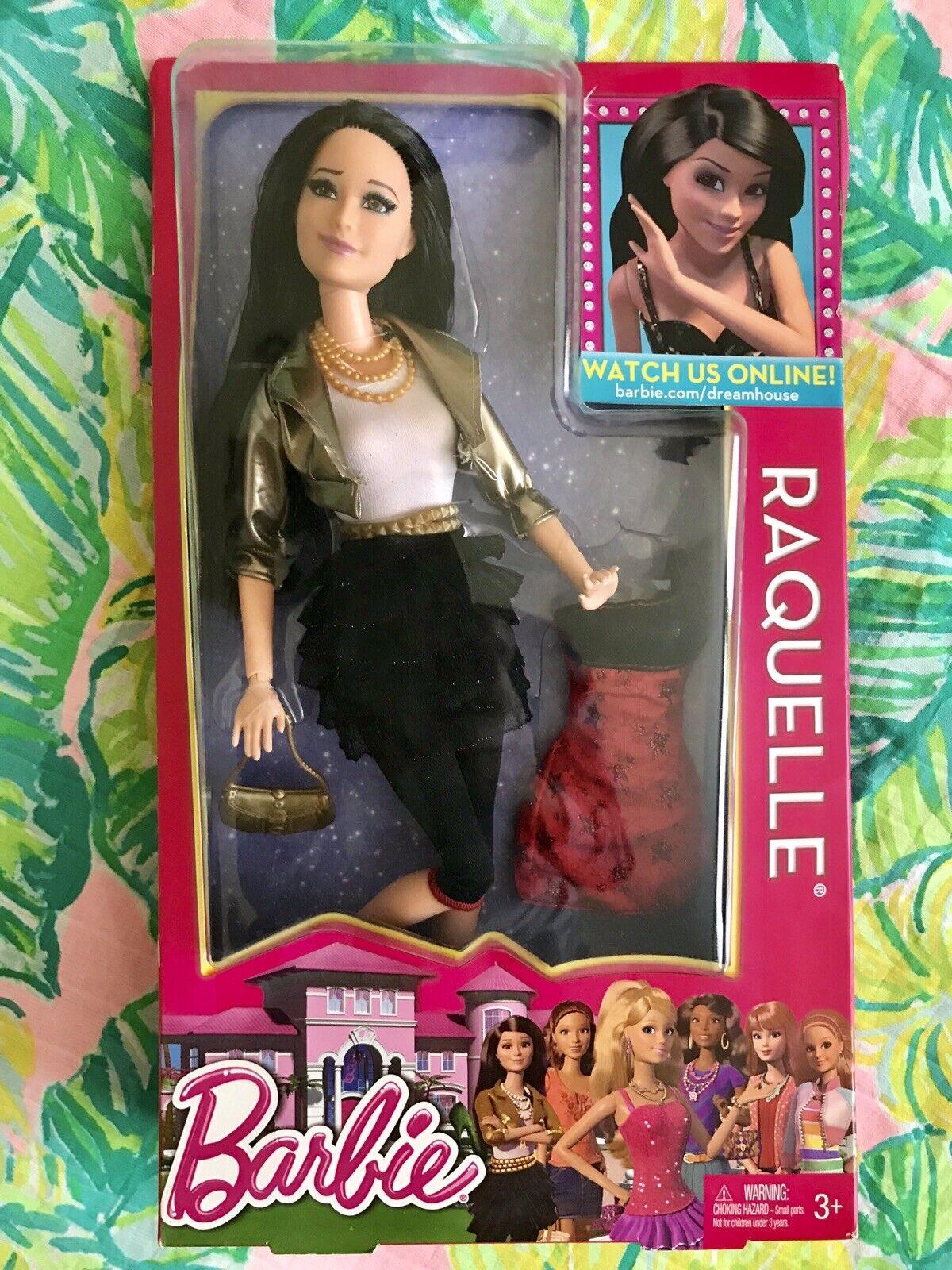 Nuevo 2012 muñeca Barbie de la vida en el Dreamhouse Raquelle & bono de moda