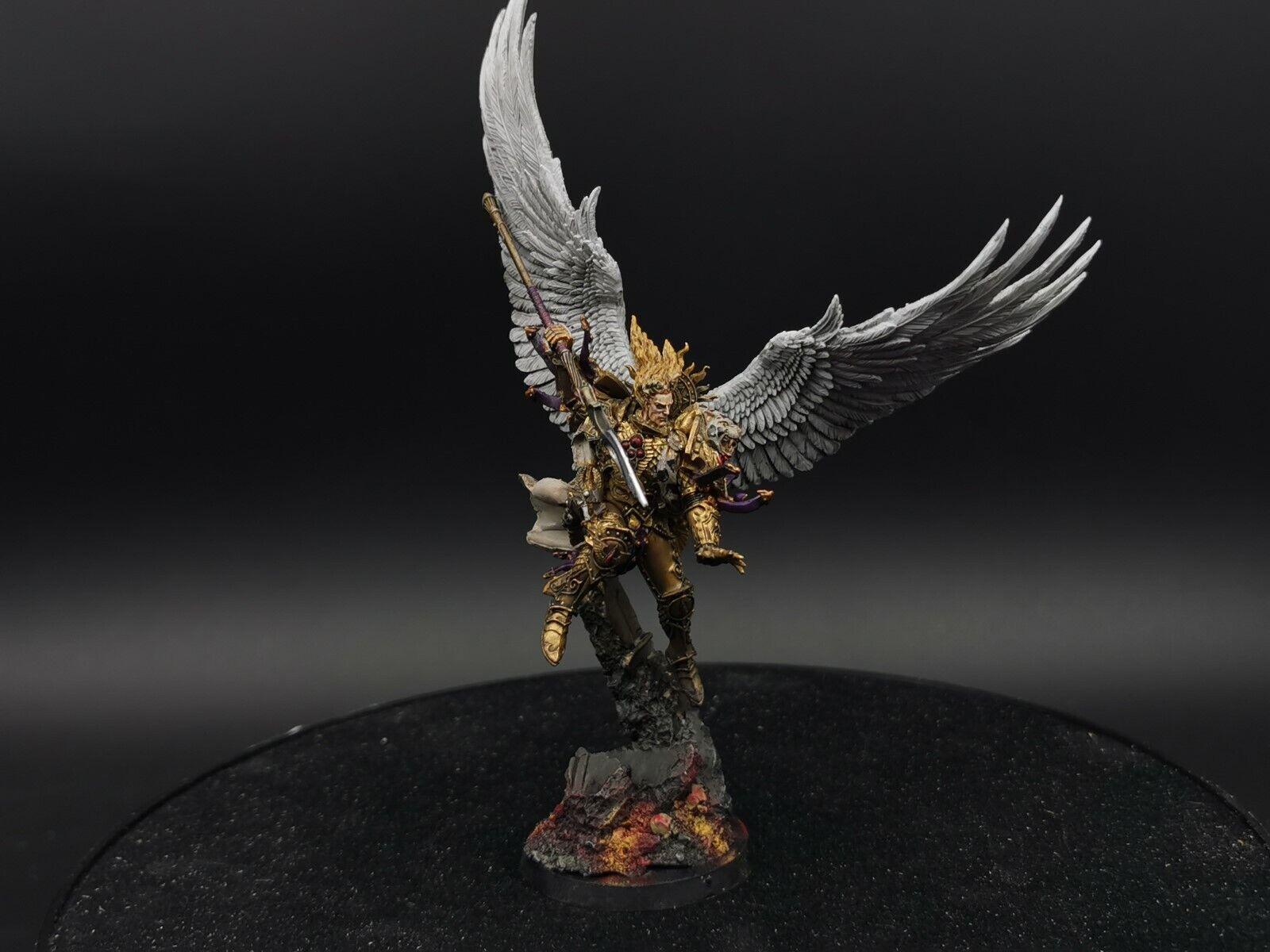 centro comercial de moda Warhammer forgworld forgworld forgworld sanguinius Primarch Blood Angels Pro Pintado hecho a pedido  punto de venta en línea