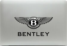 Apple MacBook + Bentley Logo + Aufkleber Sticker Skin Decal