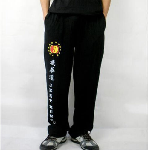 Jeet Kune Do Cotton Pants Martial Arts Training Exercise Trousers Kung Fu Pants