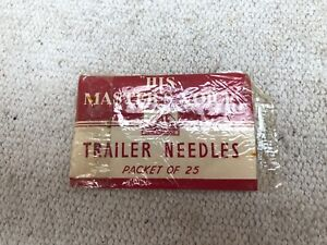 HMV His Masters Voice Trailer Needles For Gramphone (25 Of) (#27)