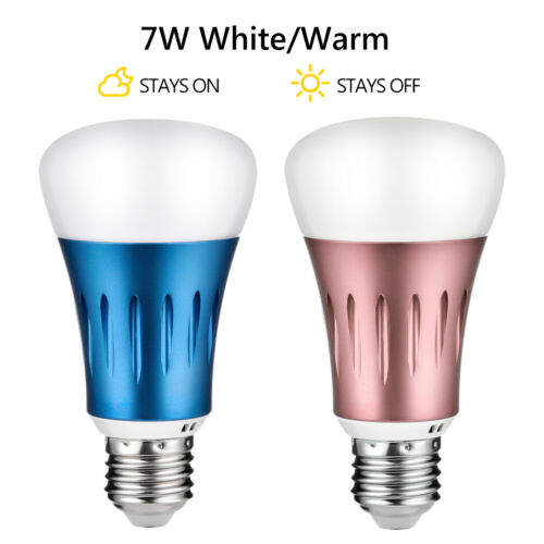 E27 LED Birne mit Dämmerungssensor Glühlampe Glühbirne Lichtsensor Leuchtmittel