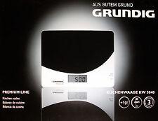 Küchenwaage GRUNDIG KW 5040 ultraflach Abschaltautomatik 5 KG Digitale Waage NEU