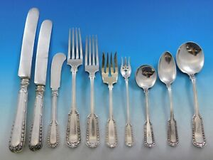 Chesterfield-by-Gorham-Sterling-Silver-Flatware-Set-8-Service-122-pcs-B-Monogram