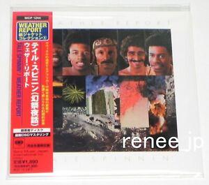 WEATHER-REPORT-Tale-Spinnin-039-JAPAN-CD-Mini-LP-w-OBI-SICP-1244