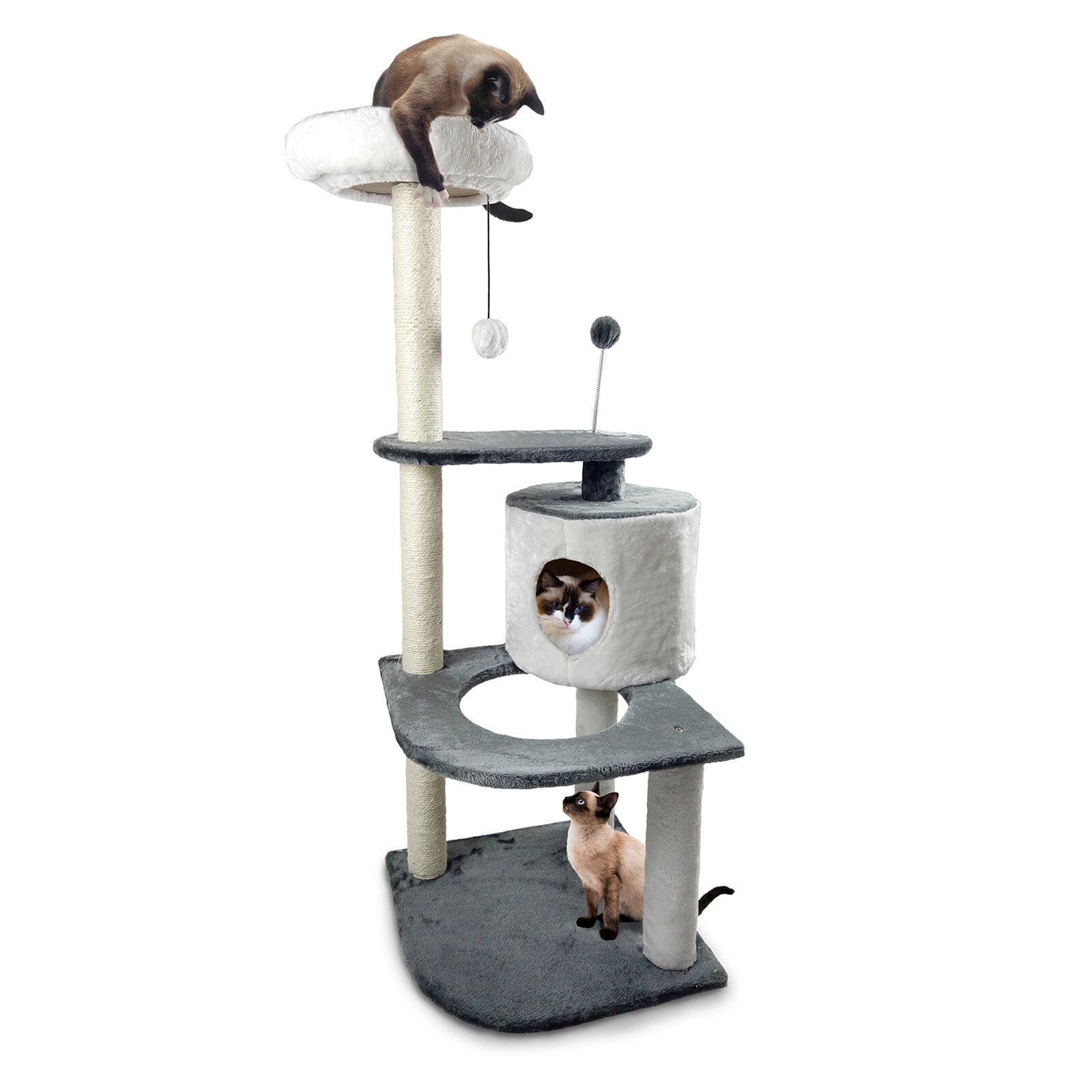 Tiger Tough™ Round House Cat Tree Playground