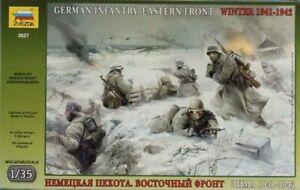 Zvezda-1-35-German-Infantry-Eastern-Front-Winter-WWII-Plastic-Figure-Kit-3627