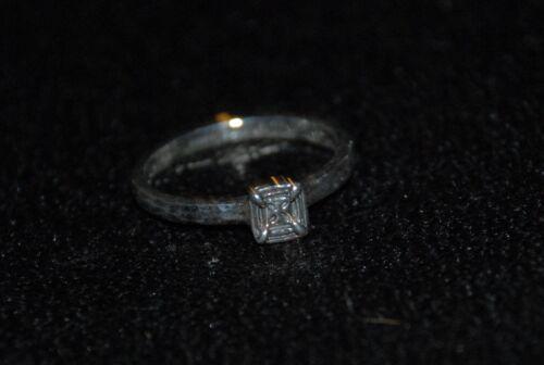 "R2467 SILPADA Belle Fleur Stack Sterling Silver /""Square/"" Ring Sz 8 RET"
