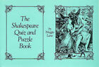 Shakespeare Quiz and Puzzle Book by Maggie Lane (Paperback, 1984)