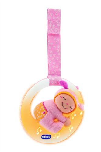 veilleuse musicale lumineuse petite lune rose chicco bébé fille jeu jouet neuf