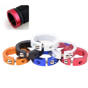 10pcs Bicycle Grips Ring Aluminum Alloy End Lock Rings MTB Handlebar Parts