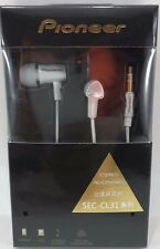 Pioneer - SEC-CL31 - Stereo Ear Headphones for Android Smart Phones - White