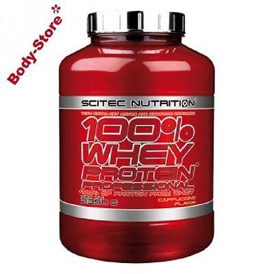 Scitec Nutrition(19,98€/kg) 100%Whey Protein Professional 2350g2,35kgPLUS SHAKER