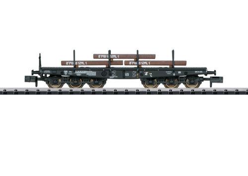 Minitrix N 15453 Schwerlastwagen Sa 705 der DB Neuware
