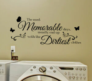 the most memorable day wall sticker home quotes inspirational love