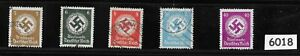 Small stamp collection 1934 & 1942 Officials stamp set / Third Reich Germany