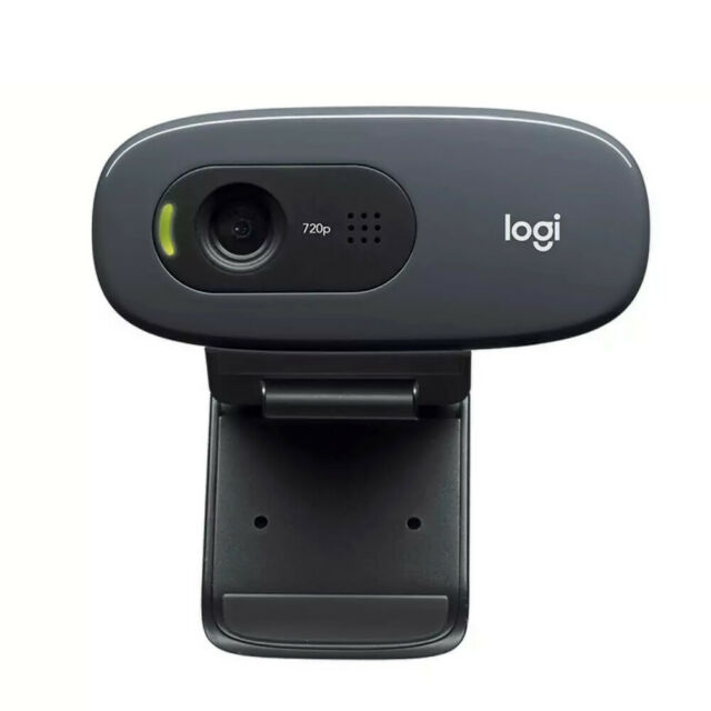 Webcam Logitech C270 USB 720P Webkamera Skype/Youtube taugl. f/PC Laptop Neu OVP
