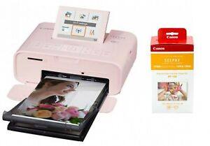 Canon-SELPHY-CP1300-Compact-Photo-Printer-Pink-amp-RP-108IN-Ink-paper-pack