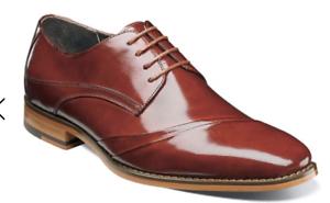 Stacy Adams Para hombres Zapatos Talmadge doblado Vamp Oxford Cognac 25193-221