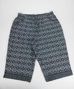Gloria-Vanderbilt-Size-2X-Stretch-Comfort-Casual-Relaxed-Fit-Crop-Capri-Pants
