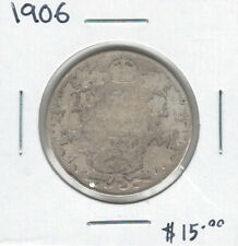 Canada 1906 Silver 50 Cents