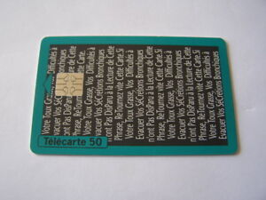 telecarte-oberlin-verte-50u-ref-phonecote-F453