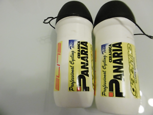 Elite Gaerne Pamaria Cycling Water Bottle Made In  2 Pieces NOS