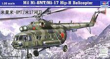 Trumpeter 1:35 Mil Mi17 Hip-H Russian Helicopter Plastic Model Kit TSM5102