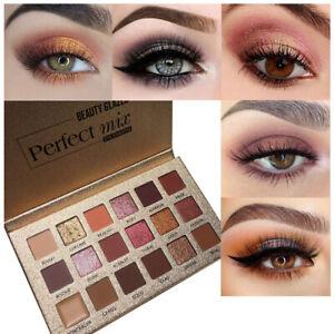 18-Farben-Eyeshadow-Glitzer-Wasserdichte-Lidschatten-Creme-Makeup-Palette-SG