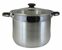 Concord 16 Qt Commercial Grade Heavy Stainless Steel Stock Pot. Stockpot Tri-ply