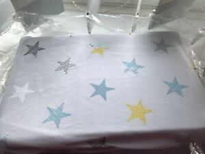 Cotton-Jersey-Stars-Cot-Fitted-Blue-With-Mixed-Coloured-Stars