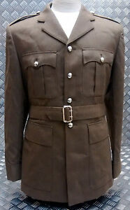 Genuine-British-Army-FAD-No2-Dress-Jacket-Tunic-No-buttons-All-Sizes-NEW
