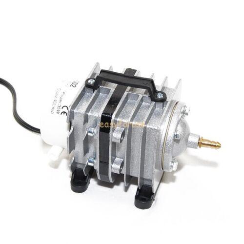 COMMERCIAL AIR PUMP 6 OUTLET HYDROPONIC-AQUARIUM-POND 35W 40L//MIN 0.03Mpa