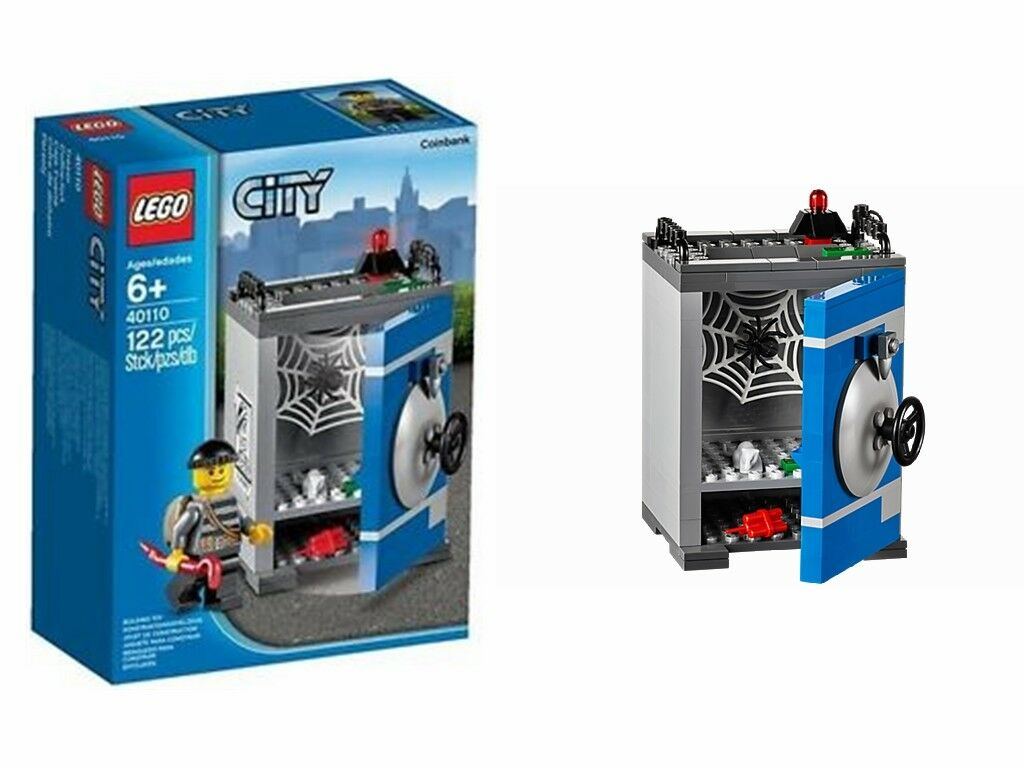 Lego City City City 40110 Coin Bank Brand New FREE UK P&P 9d706e