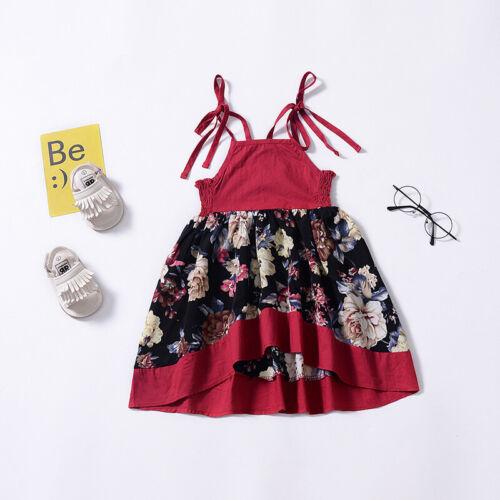 Blume Mädchen Kleid Festkleid Blumenmädchen Sommer Prinzessin Party Ballkleider