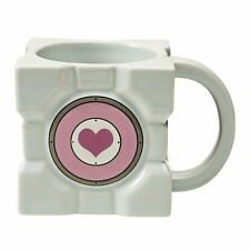 Portal 2 Companion Cube Ceramic Mug Gamer Licensed Coffee Mug