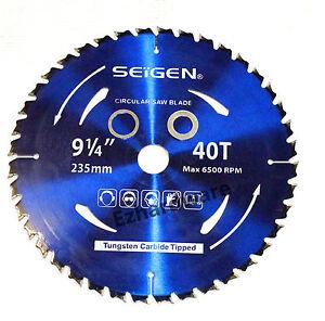 Circular-Saw-Blade-235mm-9-034-1-4-034-x40Teeth-Wood-Cutting-Blades-Premium-Quality