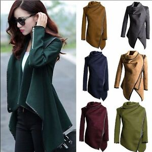 Fashion-Women-039-s-Warm-WOOL-Slim-Long-Coat-Jacket-Trench-Windbreaker-Parka-Outwear
