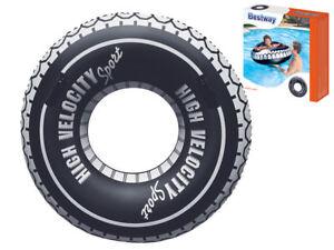 Bestway 36102 XXL Schwimmring Schwimmreifen Autoreifen Griffe günstig kaufen Wasserspielzeug