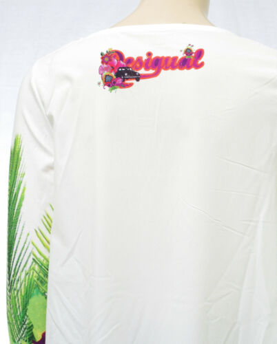 Desigual S 61t24m5 Shirt Arian 1000 Ts Tee Taille Tunique Coloris Femme 4wZ614rq