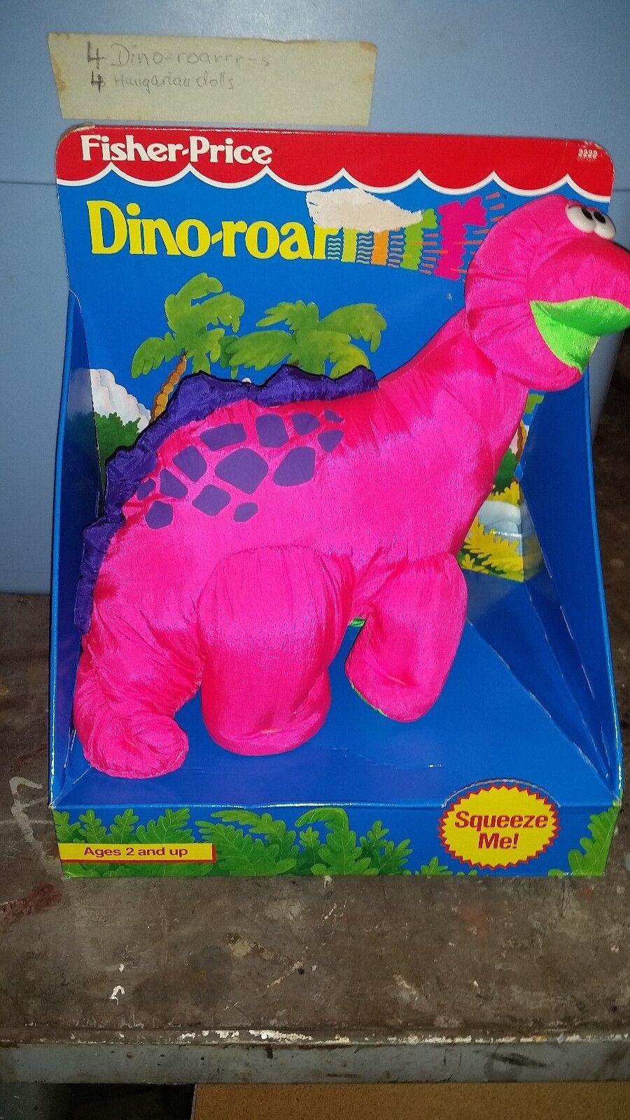 Dino roarrrrrrs fisher - price