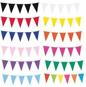 Image Is Loading Garland Of Flags Birthday Party Decoration Plastic Outdoor