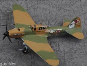 "Avion de Chasse Ilyushin Il-2m3 ""white 1"" - Die-cast Easy Model 1/72 N° 36410"