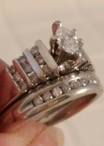 Platinum-Marquise-Engagement-Rg-and-10K-WG-Wedding-Band