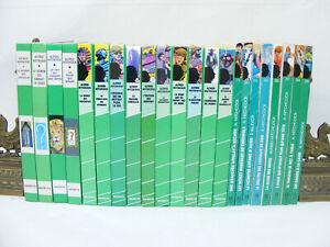 Lot-de-22-livres-Alfred-HITCHCOCK-Bibliotheque-verte-annees-60-039-s-a-90-039-s-vintage